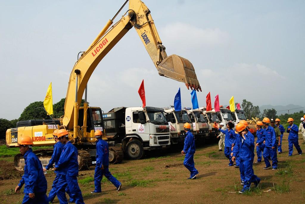 Licogi được UBND TP. Hà Nội giao đất triển khai Dự án Khu đô thị mới Thịnh Liệt từ tháng 8/2004, nhưng đến nay Dự án vẫn giậm chân tại chỗ. Ảnh: Lê Tiên