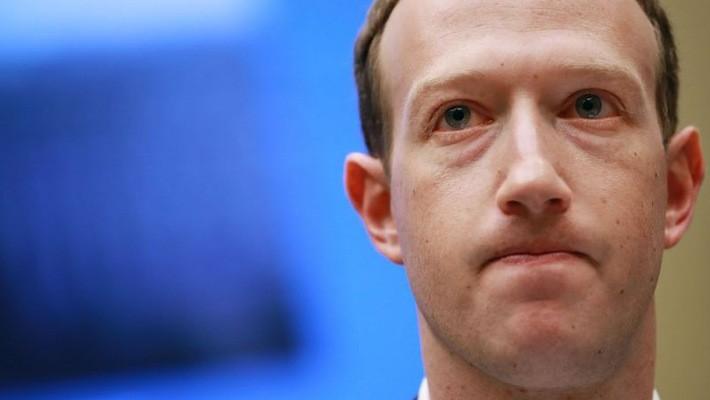Giám đốc điều hành (CEO) Facebook, ông Mark Zuckerberg.