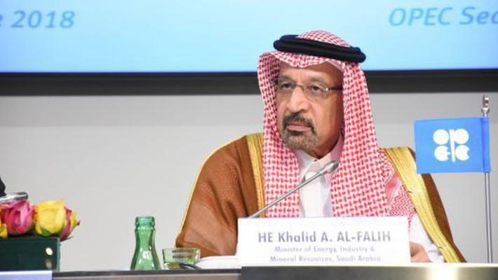 Bộ trưởng Bộ Dầu lửa Saudi Arabia, ông Khalid al-Falih - Ảnh: Getty/CNBC.