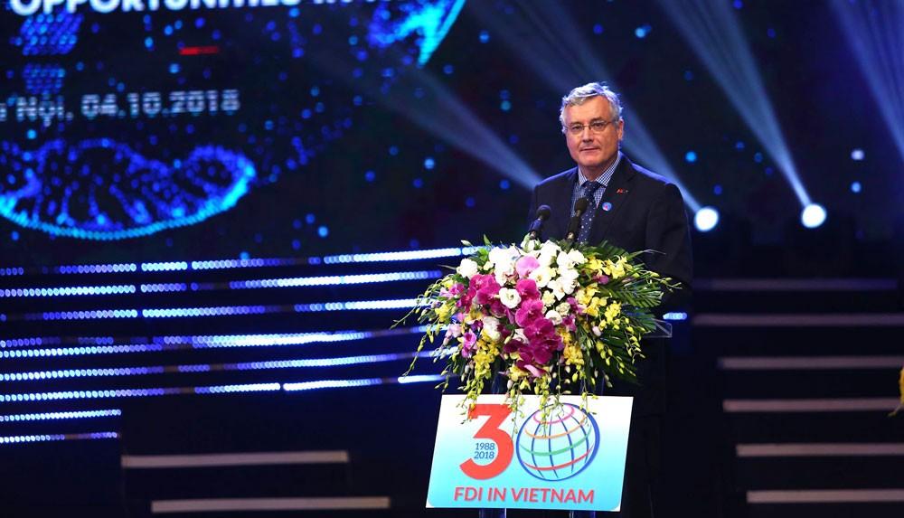 Khai mạc Hội nghị tổng kết 30 năm thu hút FDI - ảnh 10