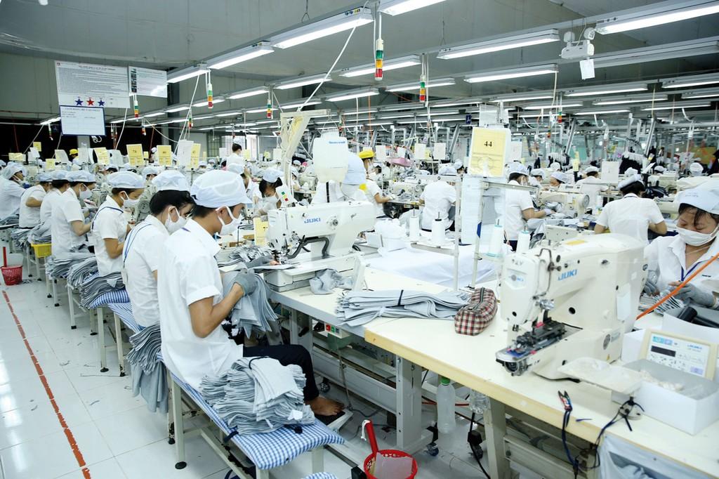 Năng suất lao động được cải thiện sẽ giúp GDP tăng trưởng cao hơn. Ảnh: Lê Tiên