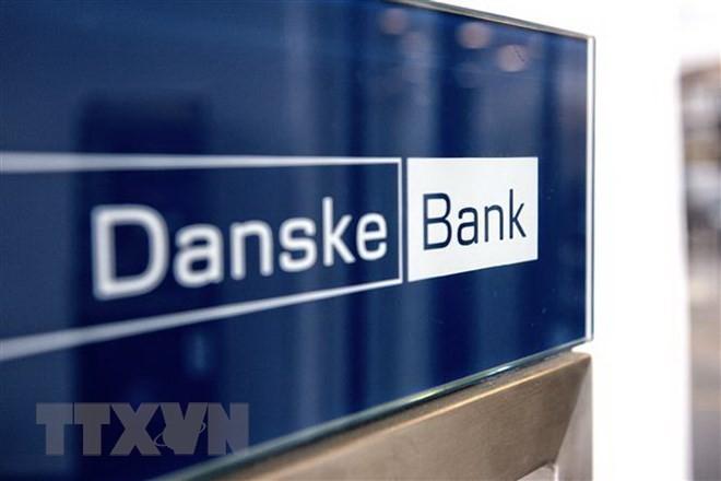 Biểu tượng ngân hàng Danske Bank tại Copenhagen, Đan Mạch. (Nguồn: AFP/TTXVN)