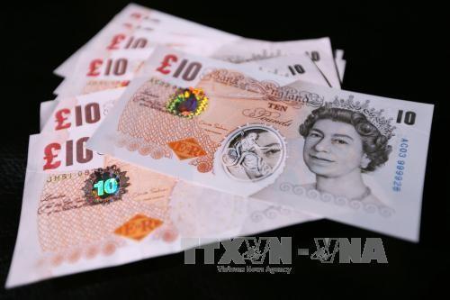 Giá đồng bảng Anh tăng. Ảnh: TTXVN