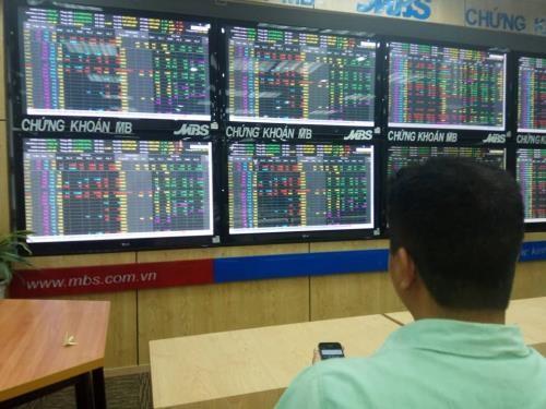 Chứng khoán ngày 12/10: VN- Index lấy lại hơn 24 điểm. Ảnh: Văn Giáp/BNEWS/TTXVN