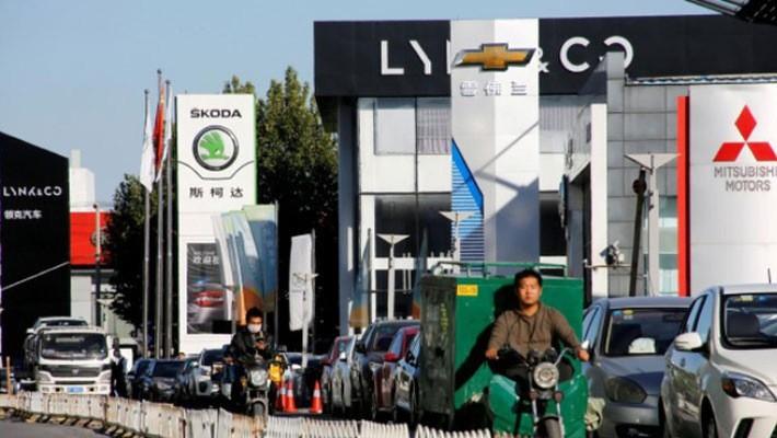 Ngành ôtô vốn là một đầu tàu tăng trưởng chính của nền kinh tế Trung Quốc - Ảnh: Reuters.