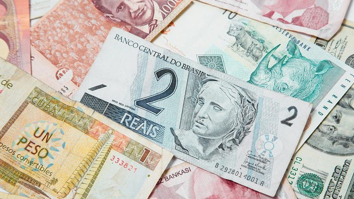 Tỷ giá đồng tiền nhiều quốc gia mới nổi đã biến động mạnh trong năm nay.