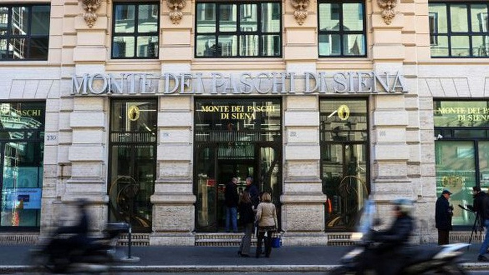 Giá cổ phiếu Banca Monte dei Paschi di Siena, ngân hàng lâu đời nhất thế giới, đã giảm 62% trong thời gian từ tháng 1 đến nay.