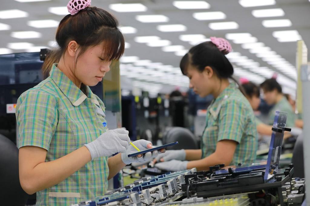 Trong 18 ngành, lĩnh vực có vốn FDI, công nghiệp chế biến, chế tạo tiếp tục dẫn đầu với tổng vốn đăng ký là 13,279 tỷ USD. Ảnh: Quang Hưng