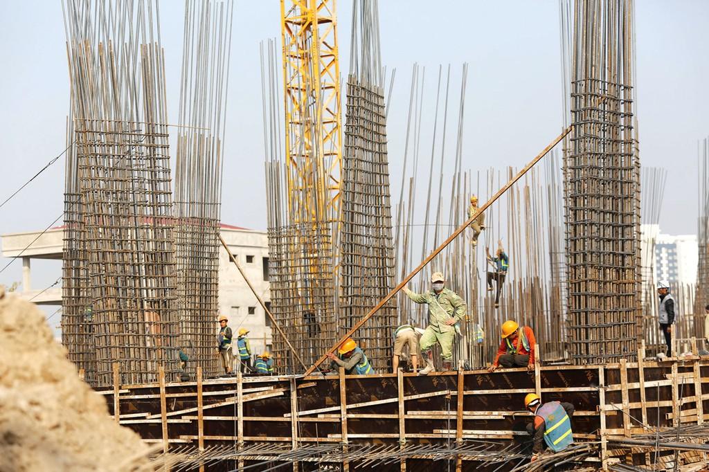 Công ty TNHH Gia Bảo được công bố trúng nhiều gói thầu thi công xây dựng công trình dân dụng. Ảnh: Hoài Tâm