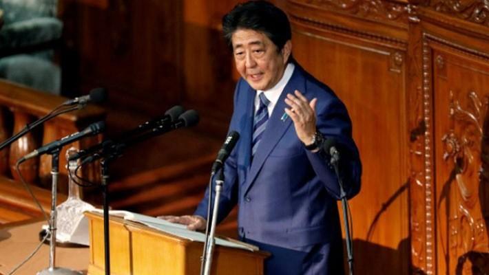 Thủ tướng Nhật Bản Shinzo Abe - Ảnh: Reuters.