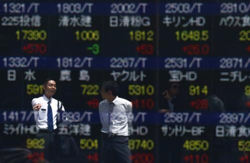 Chứng khoán châu Á phần lớn tăng điểm. Ảnh: Reuters