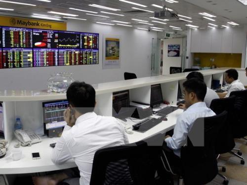 Chứng khoán ngày 6/11: VN-Index quay đầu giảm. Ảnh:TTXVN