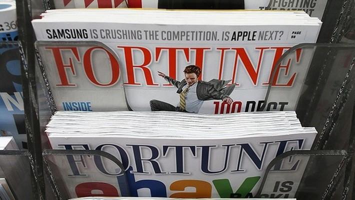 Cũng giống như nhiều tờ báo in khác, Fortune gặp khó khăn tài chính những năm gần đây.