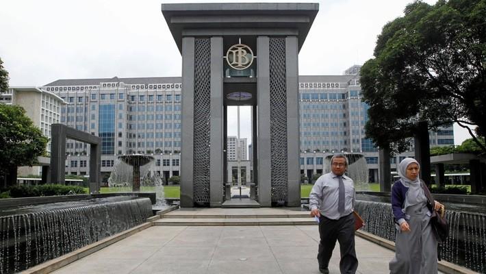 Trụ sở Ngân hàng Trung ương Indonesia ở Jakarta - Ảnh: Reuters/Nikkei.