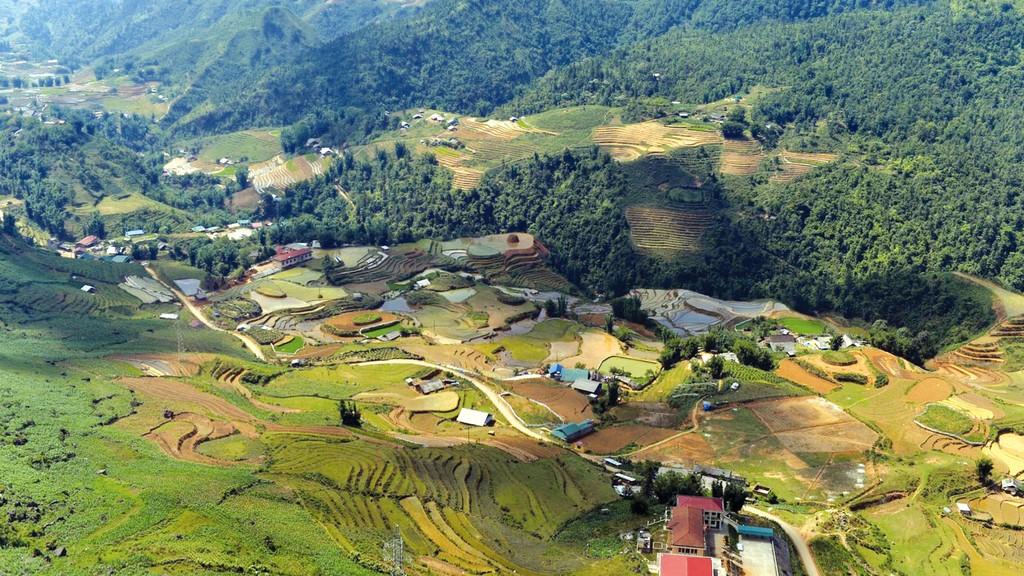 Dự án Khu đô thị Mường Hoa, Sa Pa có tổng mức đầu tư hơn 610 tỷ đồng, được triển khai trên diện tích 99.300 m2 đất. Ảnh: Minh Võ