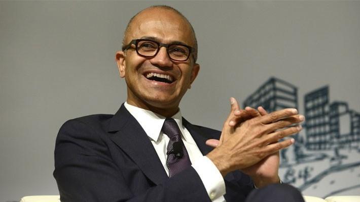 CEO Microsoft, ông Satya Nadella.
