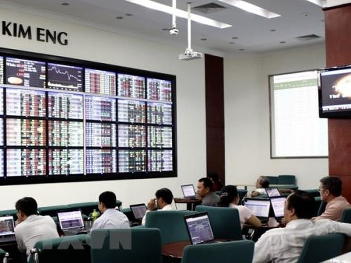 Chứng khoán ngày 18/12: Khối ngoại mua ròng hơn 400 tỷ đồng. Ảnh: TTXVN