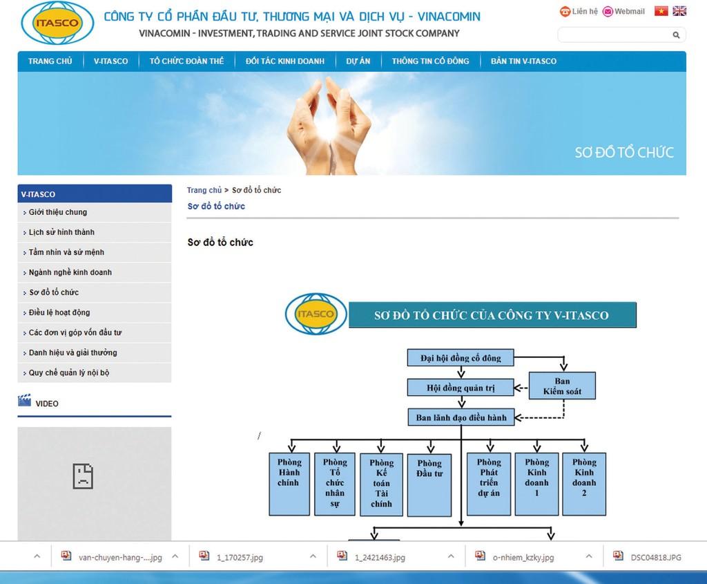 Công ty CP Đầu tư - Thương mại và Dịch vụ Vinacomin hiện sở hữu 49,5% vốn điều lệ của Công ty CP Đầu tư thương mại ITASCO Hà Nam. Ảnh: Nhã Chi