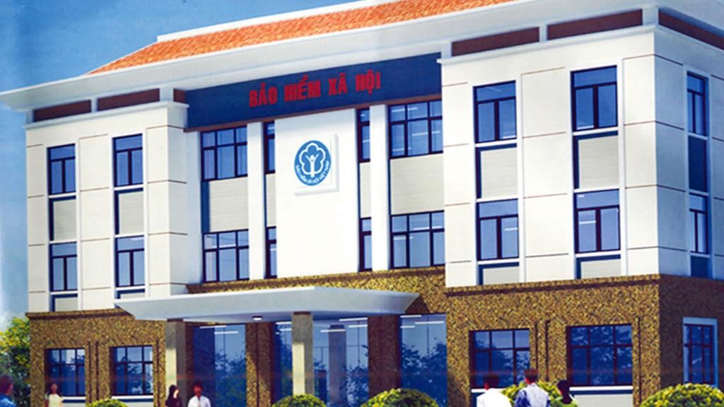 Gói thầu số 08 thuộc Dự án Xây dựng trụ sở BHXH huyện Kiên Lương, tỉnh Kiên Giang, sử dụng nguồn vốn đầu tư xây dựng cơ bản của BHXH Việt Nam. Ảnh: NC st