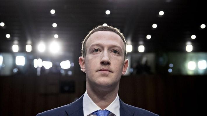 Nhà sáng lập Facebook, tỷ phú Mark Zuckerber - Ảnh: Bloomberg.