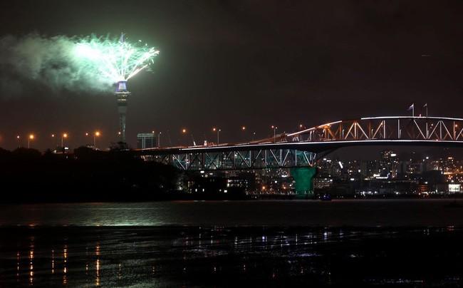 Hình ảnh đón năm mới trên khắp thế giới - ảnh 1
