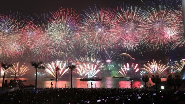 Hình ảnh đón năm mới trên khắp thế giới - ảnh 3