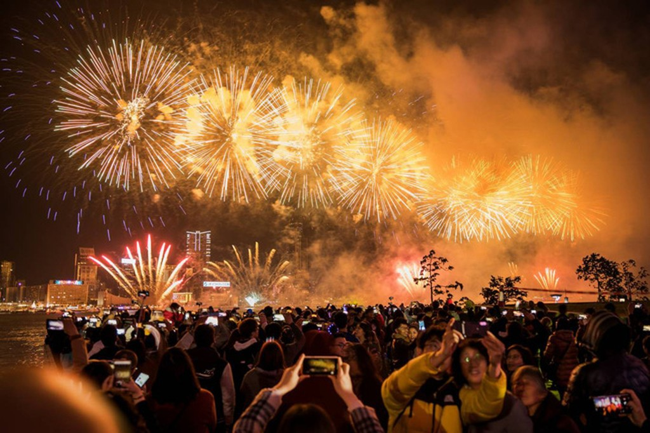 Hình ảnh đón năm mới trên khắp thế giới - ảnh 4