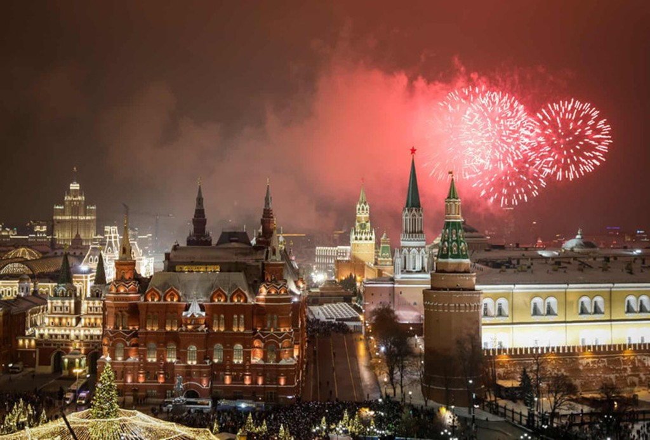 Hình ảnh đón năm mới trên khắp thế giới - ảnh 16
