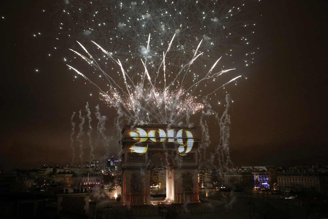 Hình ảnh đón năm mới trên khắp thế giới - ảnh 22