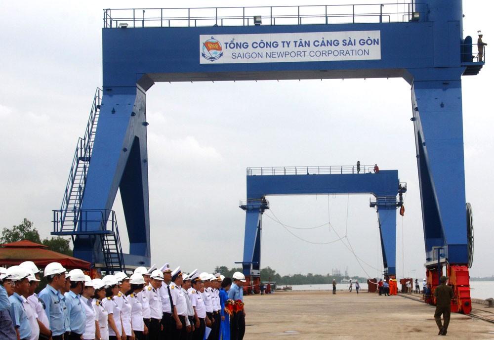 Tổng công ty Tân Cảng Sài Gòn đưa ra tiêu chí quá cao trong lựa chọn tổ chức đấu giá tài sản. Ảnh: Đinh Tuấn