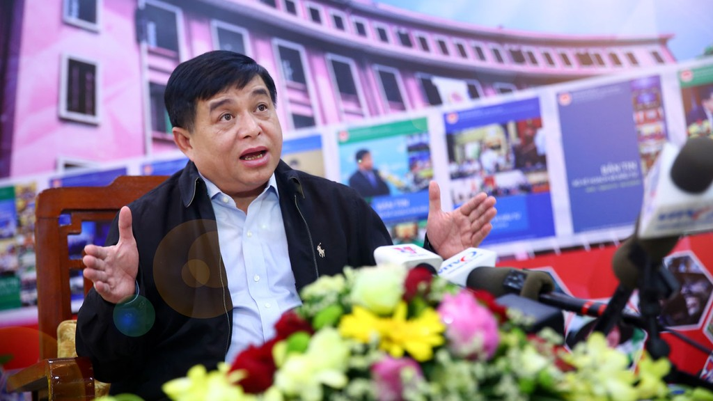 Bộ trưởng Nguyễn Chí Dũng: Phát triển khu vực kinh tế tư nhân thành động lực phát triển giai đoạn tới là một trong những nhiệm vụ trọng tâm của năm 2019. Ảnh: Lê Tiên