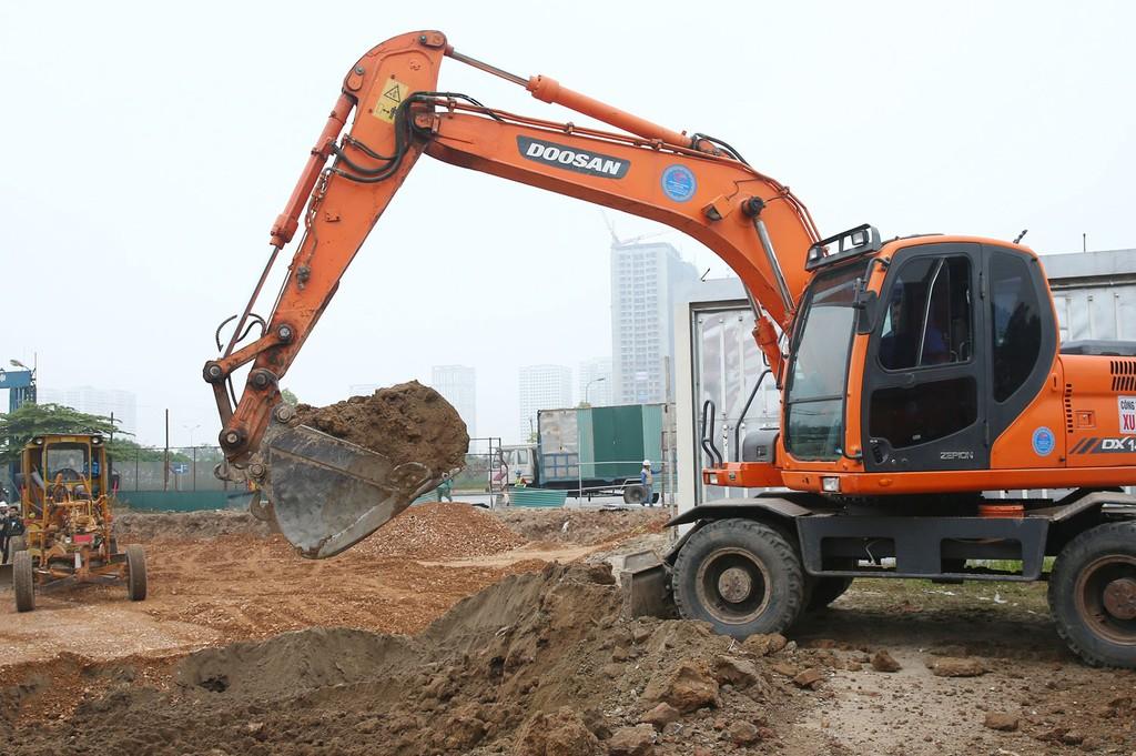 Gói thầu Toàn bộ khối lượng xây dựng và thiết bị Hạ tầng kỹ thuật Khu đô thị Long Vân, TP. Quy Nhơn trị giá trên 148 tỷ đồng. Ảnh: Nhã Chi