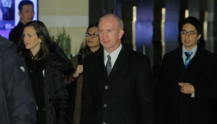 Phó đại diện thương mại Mỹ Jeffrey Gerrish, trưởng đoàn quan chức Mỹ tới Bắc Kinh đàm phán thương mại ngày 7-8/1 - Ảnh: Reuters.