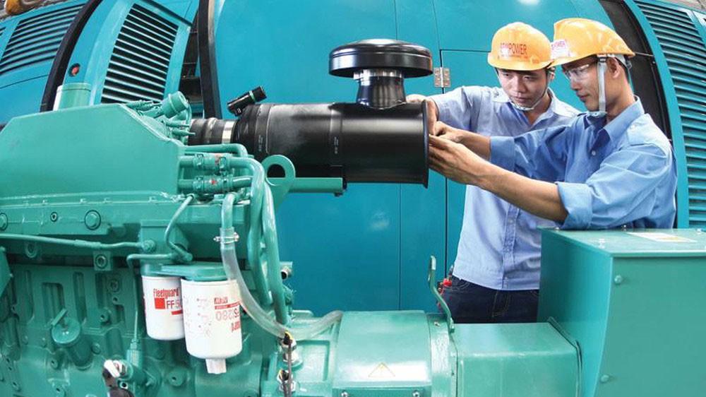 Hàng hóa sản xuất trong nước và đội ngũ kỹ sư, người lao động Việt Nam đã ghi danh trong nhiều gói thầu quốc tế. Ảnh: Lê Toàn
