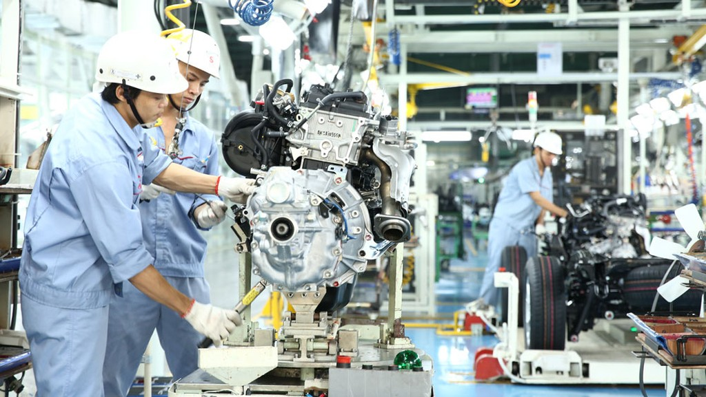 Tăng trưởng GDP năm 2018 đạt mức kỷ lục 7,08%, cao nhất trong 1 thập kỷ qua. Ảnh: Lê Tiên