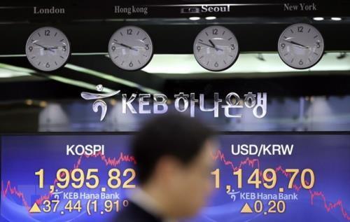 Hầu hết thị trường chứng khoán châu Á tăng điểm sáng 21/1. Ảnh minh họa: TTXVN