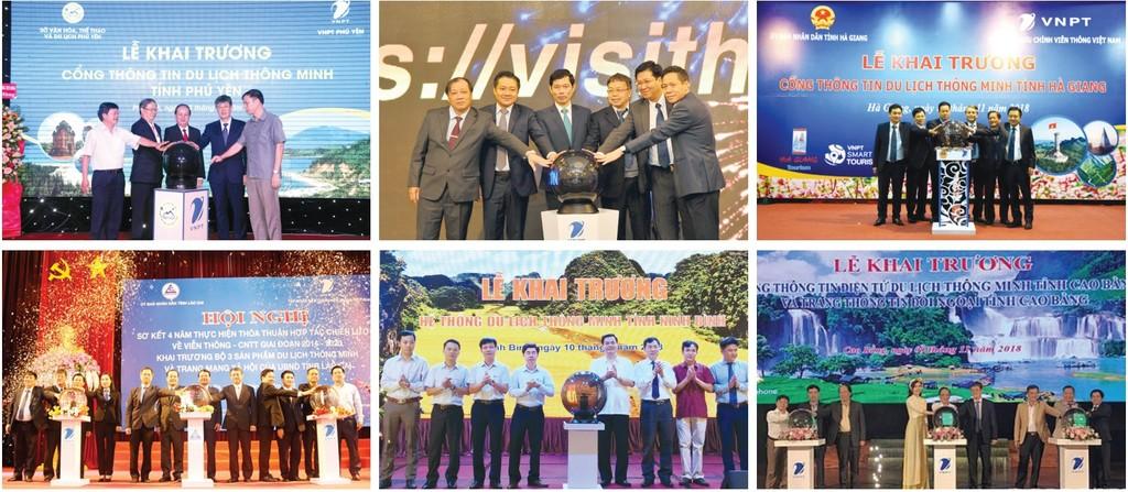 Năm 2018 là năm của du lịch thông minh với việc VNPT triển khai, thử nghiệm cho gần 30 tỉnh/thành phố