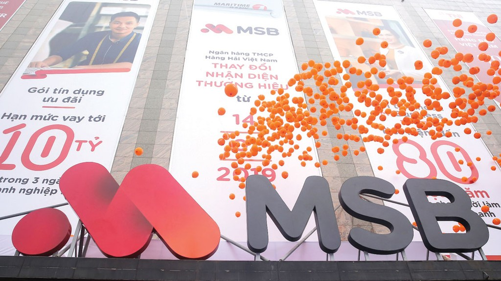 Ngân hàng TMCP Hàng hải Việt Nam thay đổi nhận diện thương hiệu và tên viết tắt từ Maritime Bank sang MSB