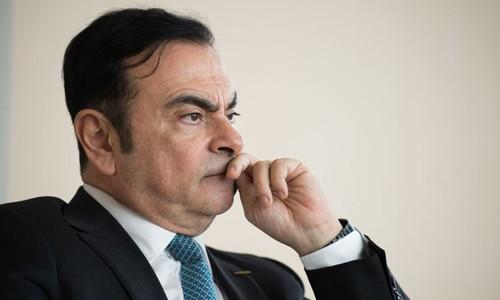Carlos Ghosn - Cựu chủ tịch, CEO Renault. Ảnh:Bloomberg