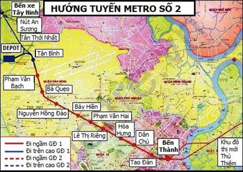 Ban Quản lý đường sắt đô thị TP.HCM phải chịu trách nhiệm khi Gói thầu CP0 tuyến metro số 2 bị hủy thầu