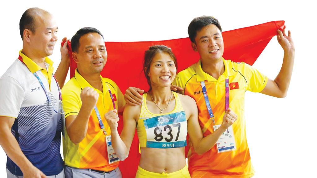 Bùi Thị Thu Thảo, người mang về tấm Huy chương Vàng đầu tiên của điền kinh Việt Nam trong lịch sử tham dự ASIAD