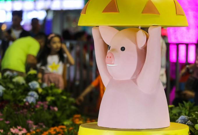 Đông nghịt người dân tham quan đường hoa Nguyễn Huệ - ảnh 10
