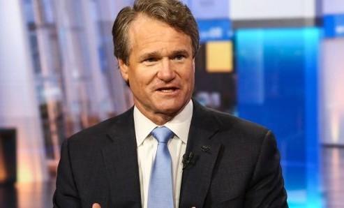 Giám đốc điều hành của Bank of America, Brian Moynihan. Ảnh:Bloomberg