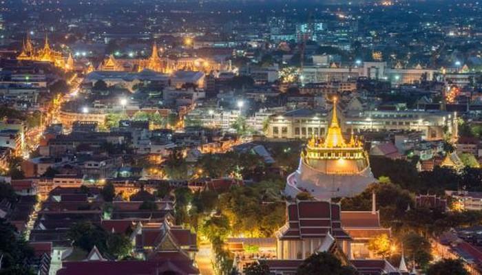 Một góc thủ đô Bangkok của Thái Lan - Ảnh: Getty/CNBC.