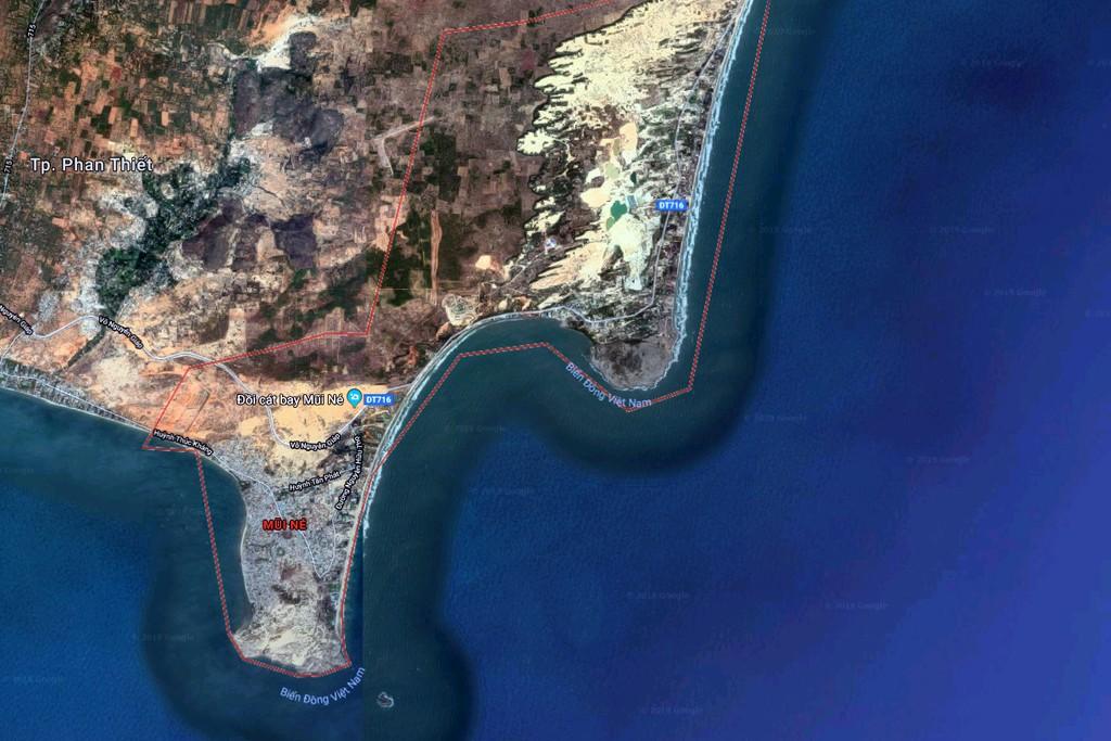 Dự án Bảo Việt Resort được xây dựng tại khu phố 5, phường Mũi Né, TP. Phan Thiết, tỉnh Bình Thuận.