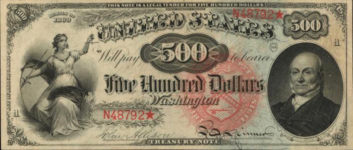 Tờ tiền mệnh giá 1.000 USD có thể được bán giá triệu