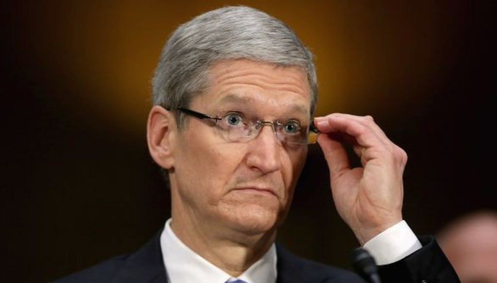 Tim Cook, CEO của Apple - Ảnh: Getty Images.