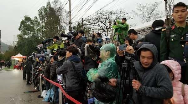 Chủ tịch Triều Tiên đến Việt Nam trên đoàn tàu bọc thép - ảnh 28