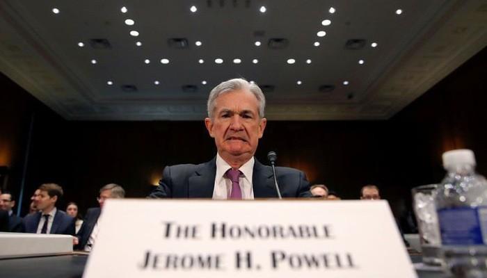 Chủ tịch FED Jerome Powell điều trần trước Ủy ban Ngân hàng thuộc Thượng viện Mỹ hôm 26/2 - Ảnh: Reuters.