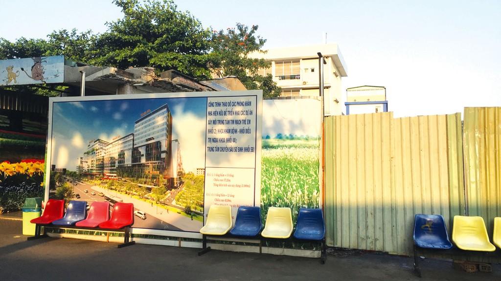 Dự án Xây dựng mới Trung tâm sơ sinh - chuyên gia (Khối 5B) của Bệnh viện Nhi Đồng 1 (TP.HCM) sử dụng nguồn vốn từ ngân sách thành phố